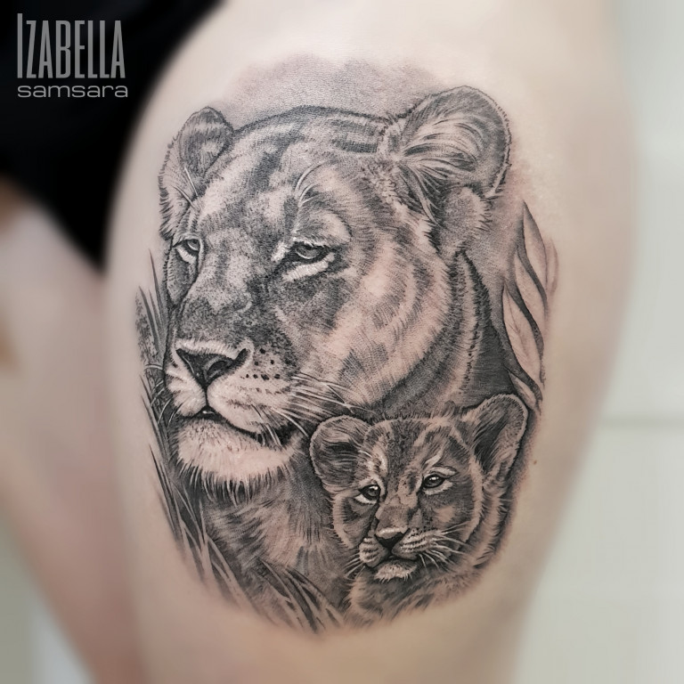 little lion lew lwiątko