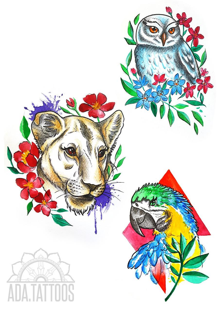 zwierzątka animals drawing