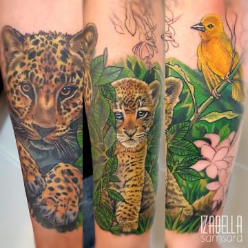 Tygrys rękaw tiger sleeve