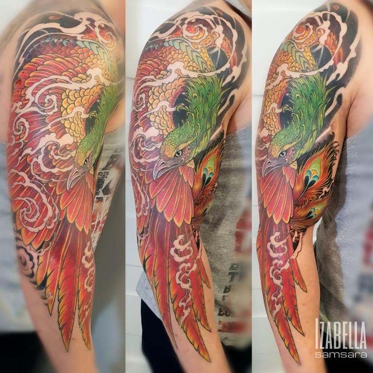 phoenix sleeve feniks rękaw