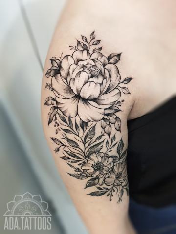 kompozycja kwiatowa flower compsition