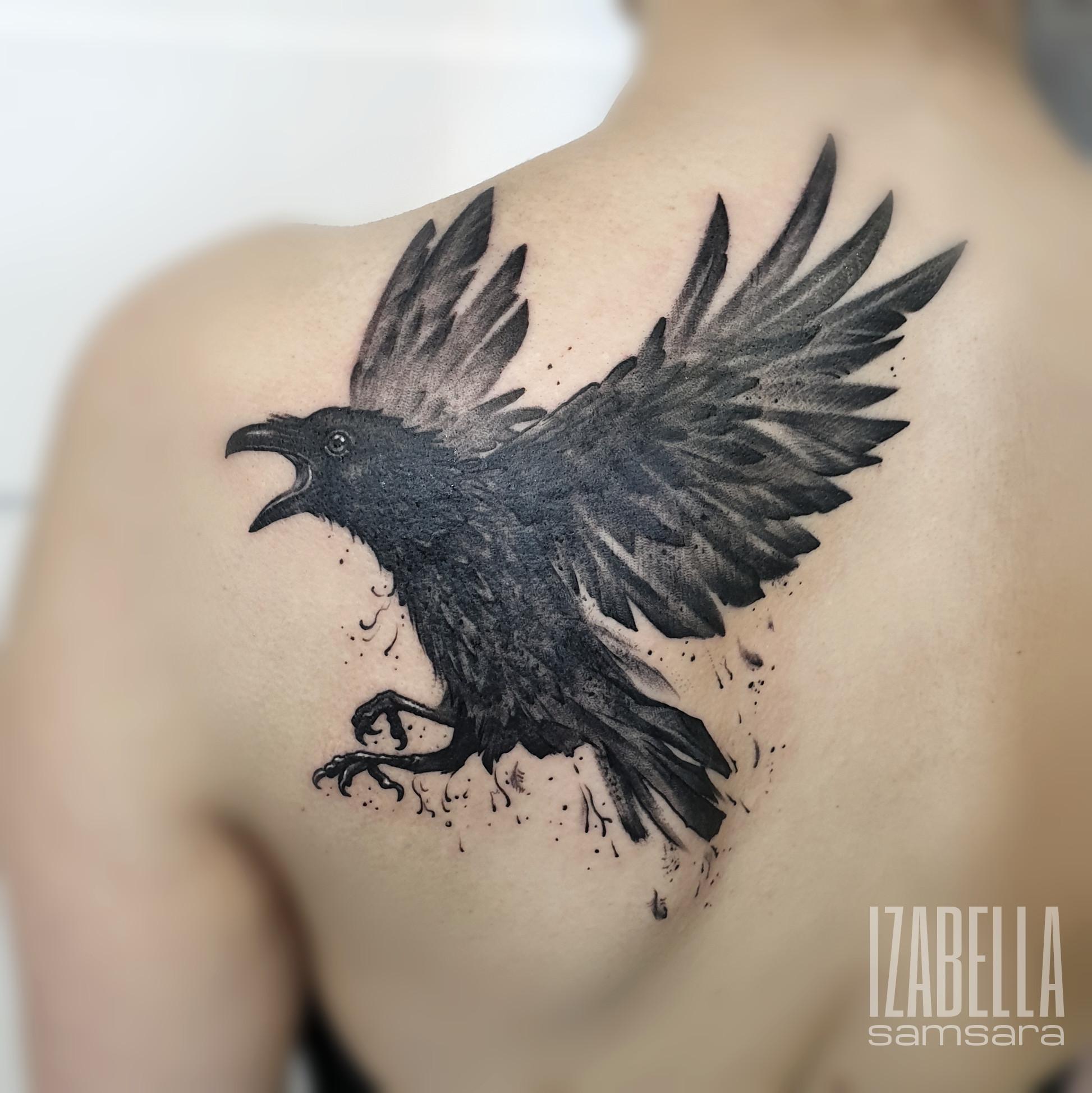 czarny kruk black raven