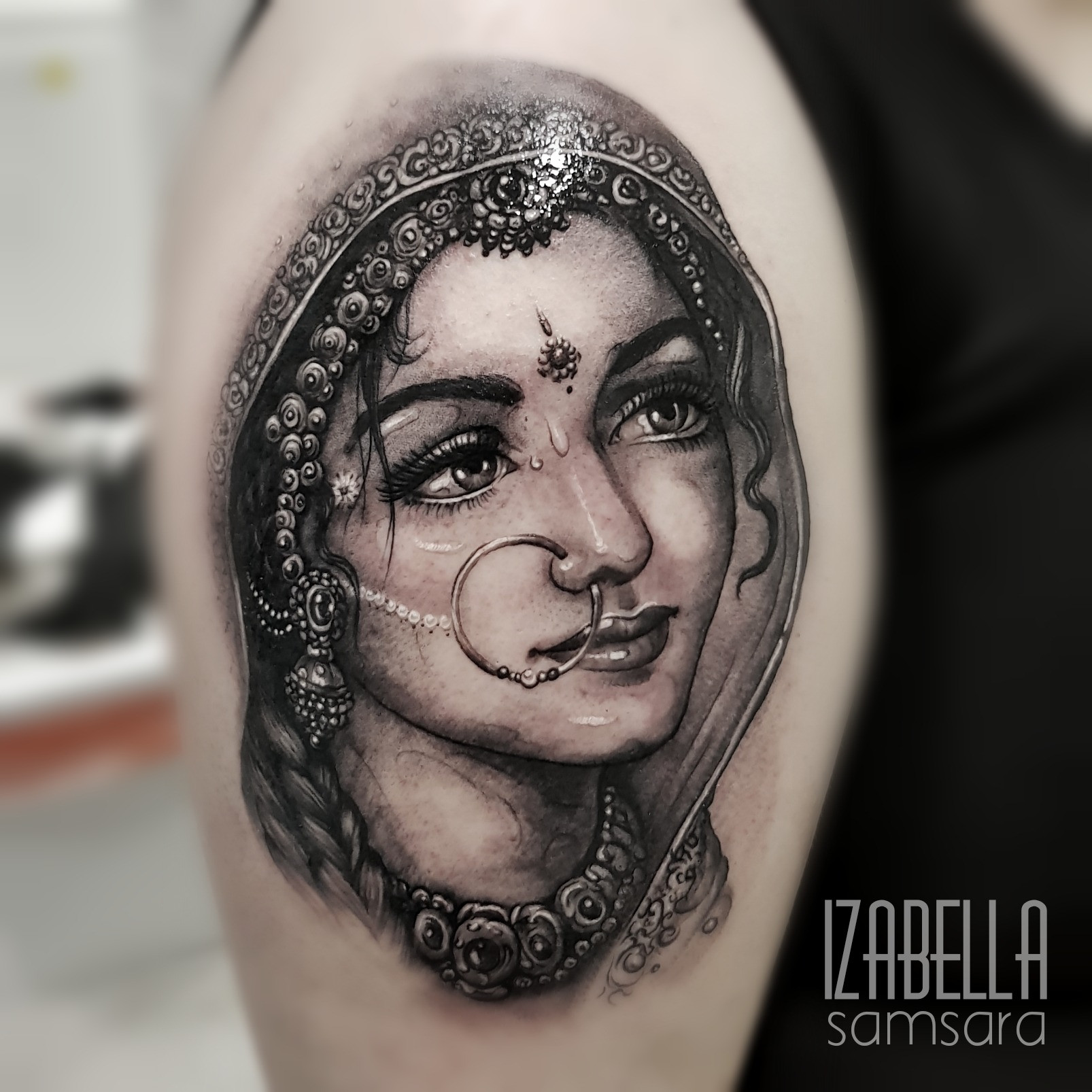 Kobieta portret woman hinduski
