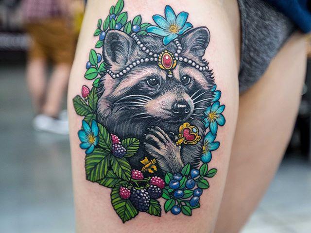 tatuażkolor zwierzęta