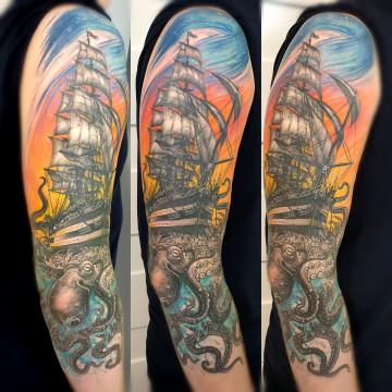 statek kraken ship