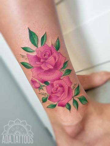 rozowe roze rose roses