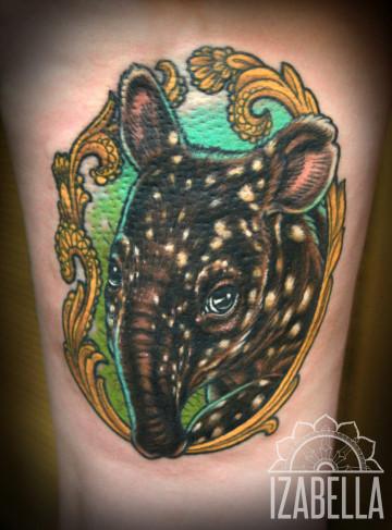 tapir tatuaż