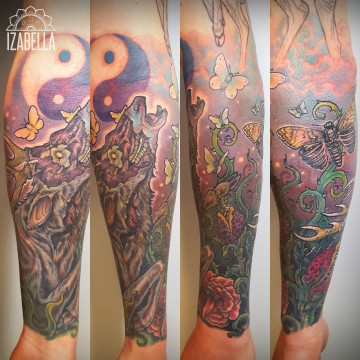 trupie rękaw tatuaż