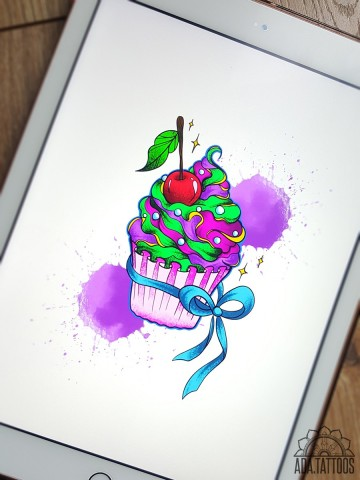 kapkejk cupcake